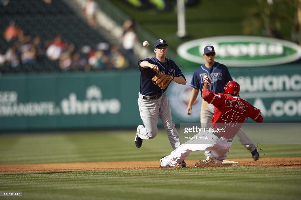 Los Angeles Angels of Anaheim vs Tampa Bay Rays : News Photo