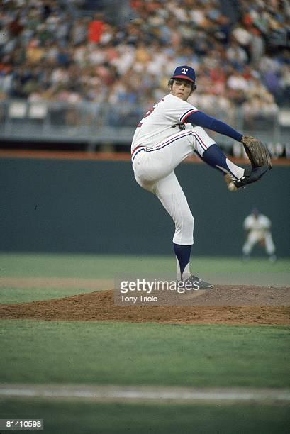 Baseball Texas Rangers David Clyde in action pitching vs Minnesota Twins Arlington TX 6/27/1973
