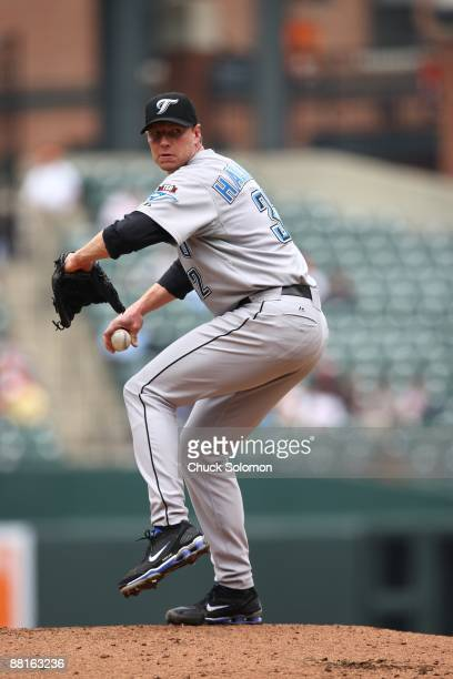 Toronto Blue Jays Roy Halladay in action pitching vs Baltimore Orioles Baltimore MD 5/27/2009 CREDIT Chuck Solomon