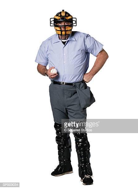 baseball umpire - 線審 ストックフォトと画像