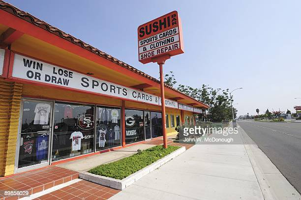 Upper Deck Cards Exterior view of memorabilia and collectible store Win Lose or Draw Sports Cards and Clothing This store is the successor to the...