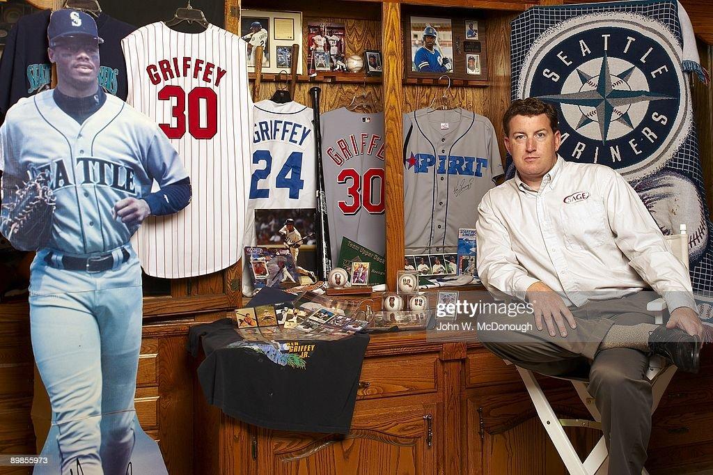 Portrait Of Upper Decks First Employee Tom Geideman With Ken