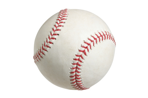 Baseball with clipping path 177401325