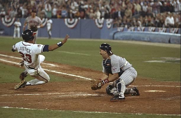 David Justice Braves World Series