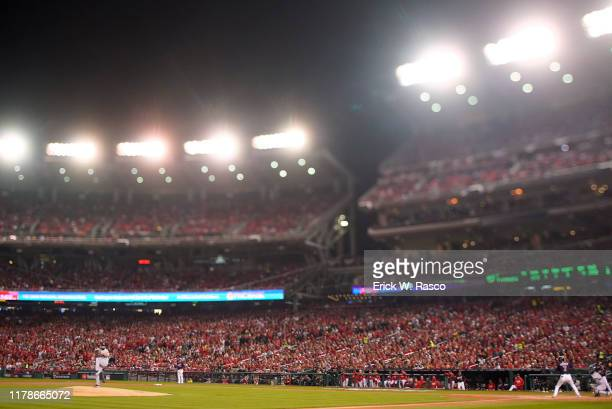 World Series Houston Astros Jose Urquidy in action pitching vs Washington Nationals at Nationals Park Game 4 Washington DC CREDIT Erick W Rasco