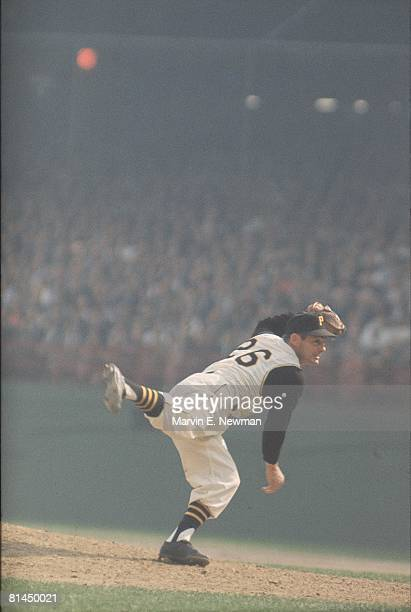 Baseball World Series Pittsburgh Pirates Elroy Face in action vs New York Yankees 10/5/1960