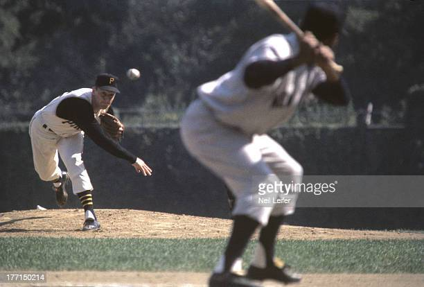 World Series Pittsburgh Pirates Vern Law in action pitching vs New York Yankees at Forbes Field Pittsburgh PA CREDIT Neil Leifer