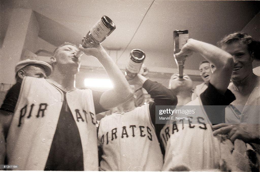 Pittsburgh Pirates, 1960 World Series : News Photo