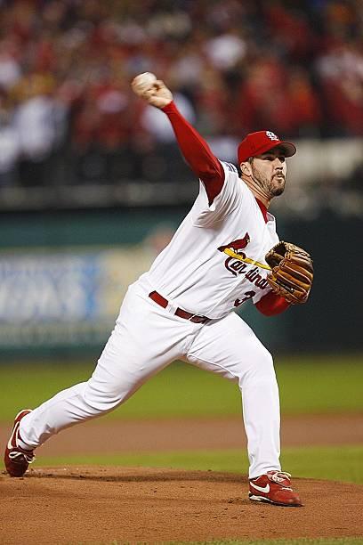 St Louis Cardinals Jeff Suppan 2006 World Series