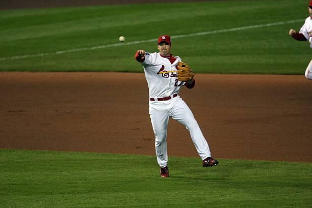 St Louis Cardinals Scott Rolen 2006 World Series