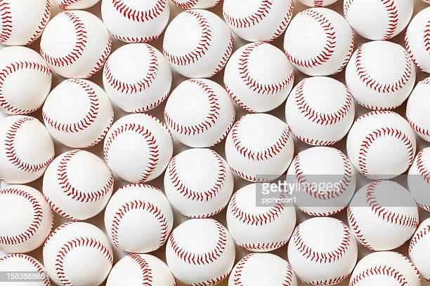 baseballs - baseball ball stock photos and pictures