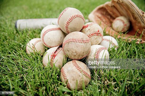 baseballs - odegaard stock pictures, royalty-free photos & images