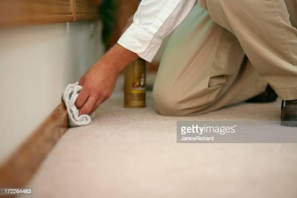 Fußleiste Reinigung