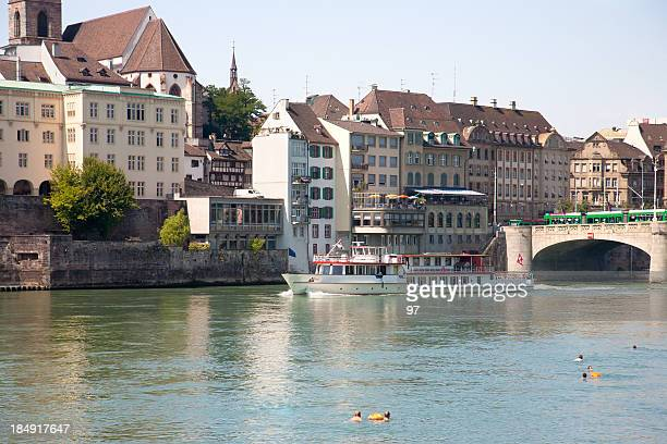 Basel, Schweiz und Rhein
