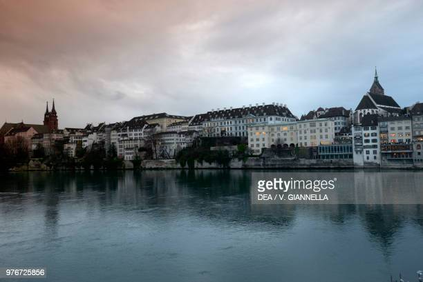 Basel and the Rhine River Switzerland