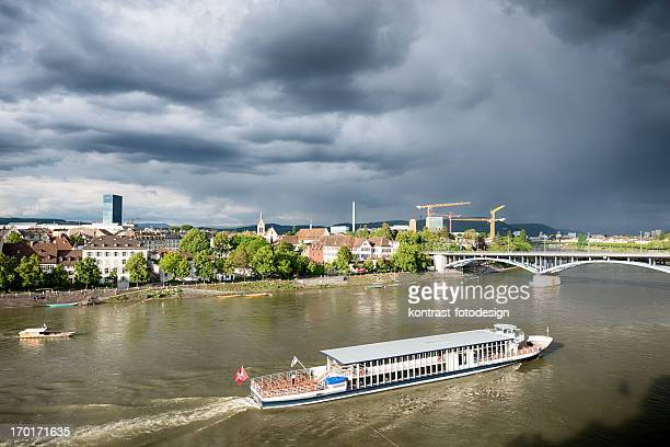 Stadtansicht von Basel, Schweiz
