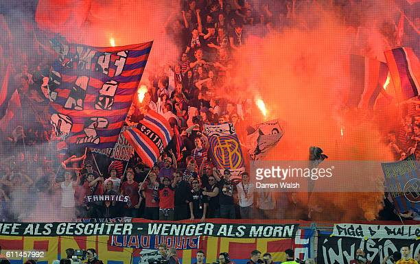 FC Basel fans in the stands