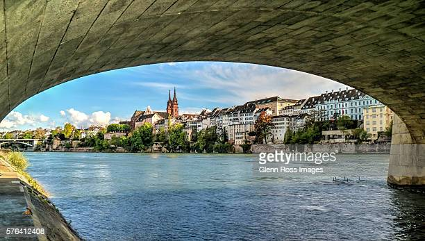 Basel from under the Middle Bridge