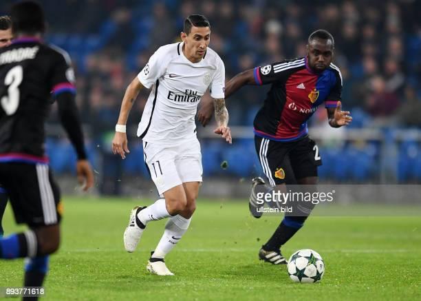 FUSSBALL FC Basel Paris SaintGermain Angel Di Maria gegen Eder Balanta