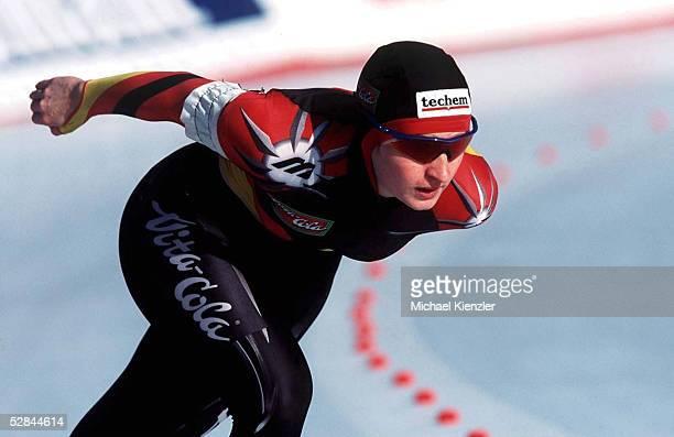 EM 2001 Baselga di Pine 5000m FRAUEN Daniela ANSCHUETZ/GER