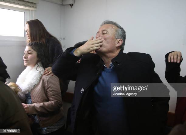 Basem alTamimi father of Hanzala Courage Award winner 16yearold Palestinian girl Ahed alTamimi who was detained by Israeli security forces last year...