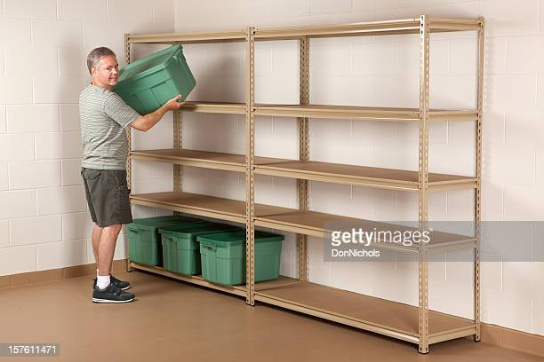 Basement Cleanup and Storage