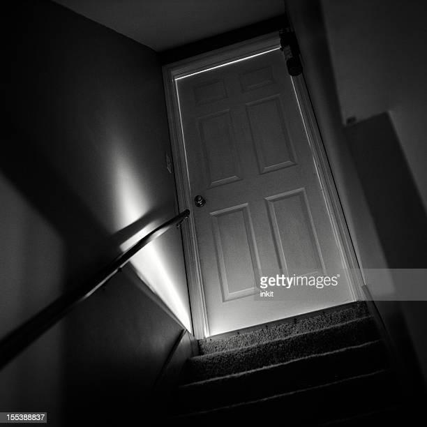 Untergeschoss Tür