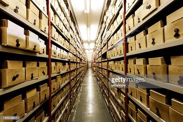 Basement storage.