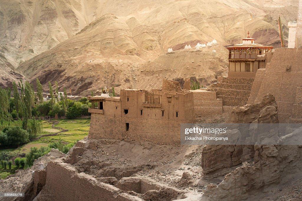Basgo Monastery : Stockfoto