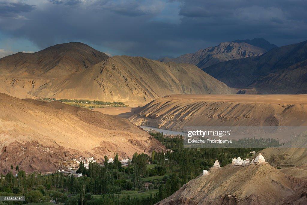Basgo Monastery : Stock Photo