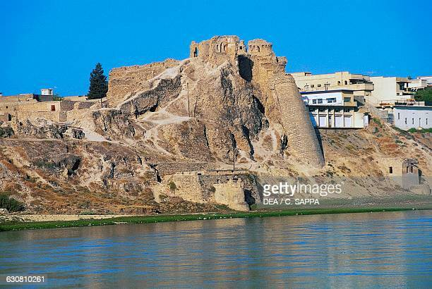 Bash Tapia castle on the Tigris river destroyed in 2015 Mosul Iraq 12th century