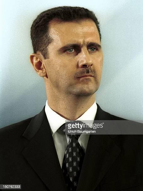 Bashar ALASSAD state president of Syria