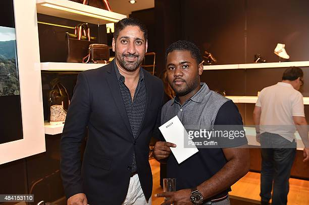f9b10fd801b Bashar Elamad and guest attend J Cole For Bally Cocktail at Bally Phipps  Plaza on August
