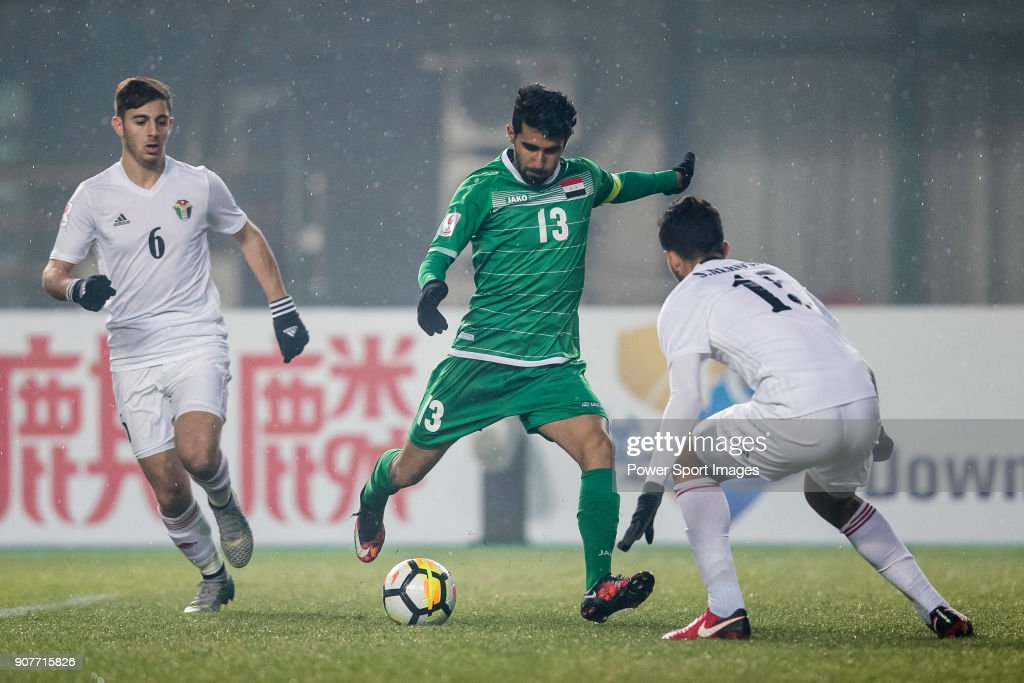 AFC U23 Championship China 2018 - Group Stage Iraq vs Jordan : News Photo