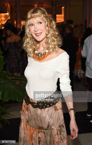 Basia Briggs attends a private view of 'Frida Kahlo Making Her Self Up' at The VA on June 13 2018 in London England