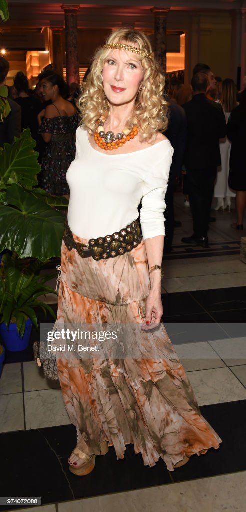 Basia Briggs attends a private view of 'Frida Kahlo: Making Her Self Up' at The V&A on June 13, 2018 in London, England.