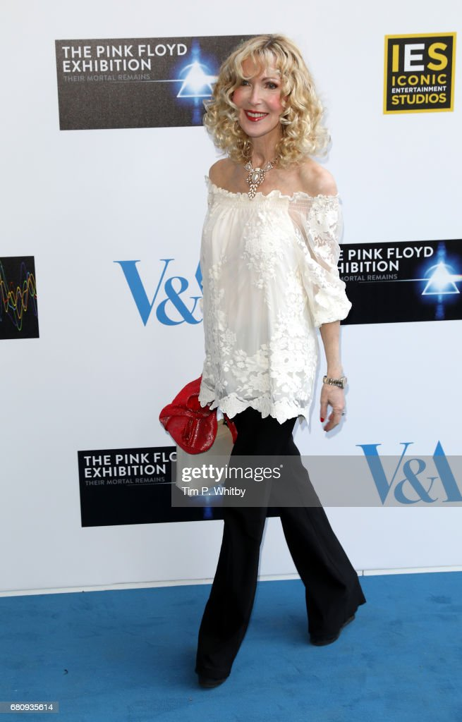 Basia Briggs attends the Pink Floyd Exhibition: Their Mortal Remains at the V&A on May 9, 2017 in London, England.