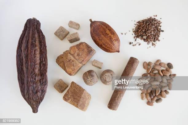 Basic elements of chocolate