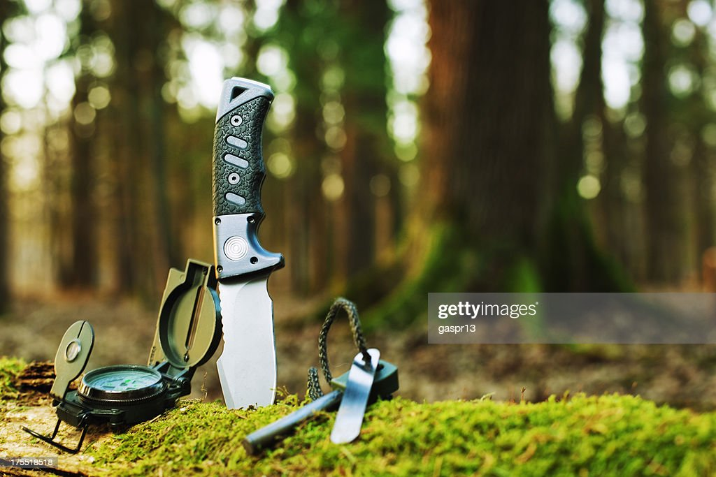 basic survival-tools : Stock-Foto