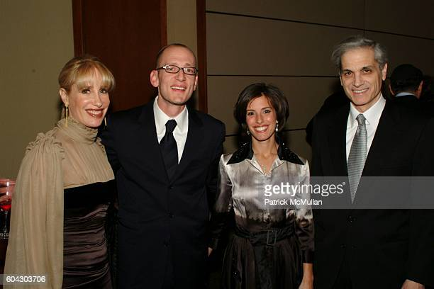 Basie Lowinger Yoni Leifer Jamie Leifer and Andrew Lowinger attend American Friends of Shalva Annual Dinner at Pier 60 on March 5 2006 in New York...
