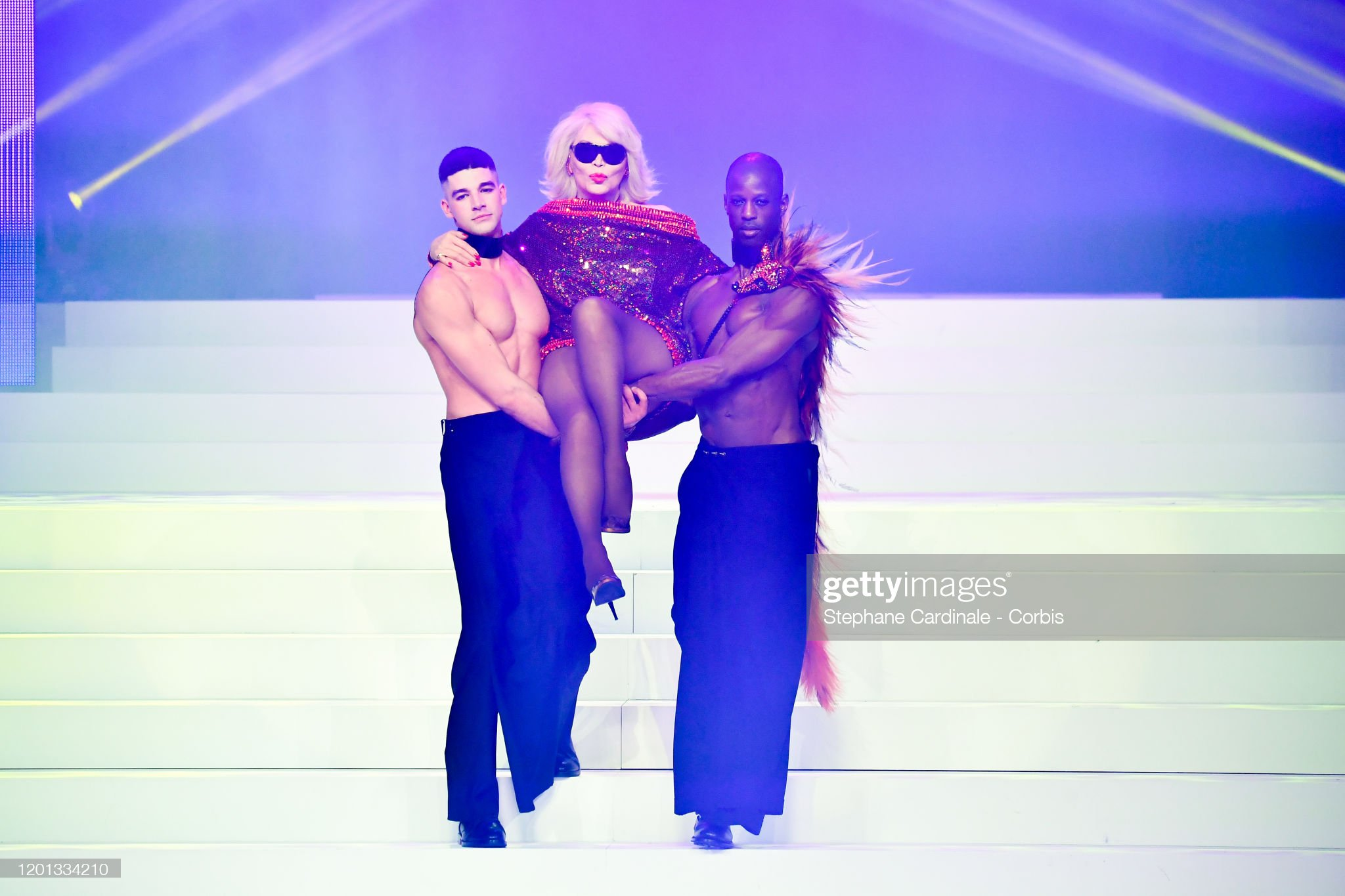 Jean-Paul Gaultier : Runway - Paris Fashion Week - Haute Couture Spring/Summer 2020 : News Photo