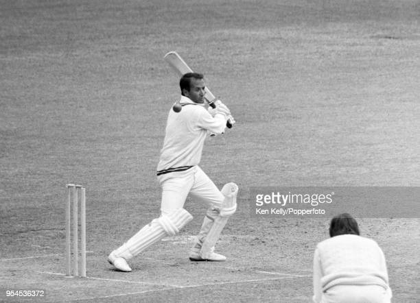 Basil D'Oliveira batting for Worcestershire during the County Championship match between Worcestershire and Kent at New Road Worcester 31st May 1971...