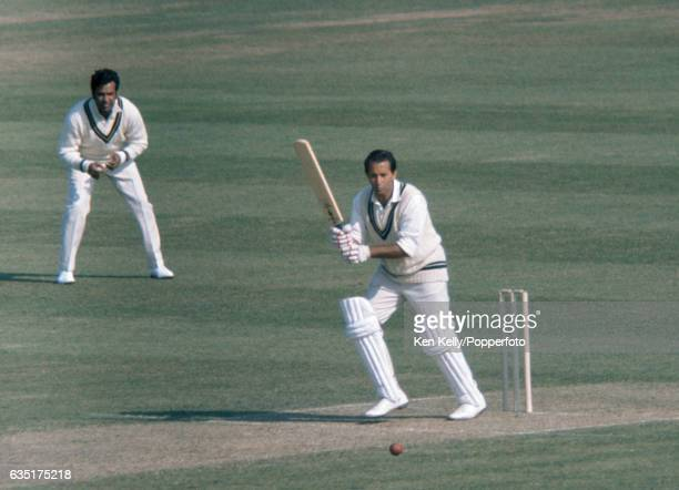 Basil D'Oliveira batting for Worcestershire during the tour match between Worcestershire and the Pakistanis at New Road Worcester 1st May 1971 The...
