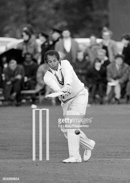 Basil D'Oliveira batting for Worcestershire during their John Player League match against Surrey at Leatherhead 14th May 1972