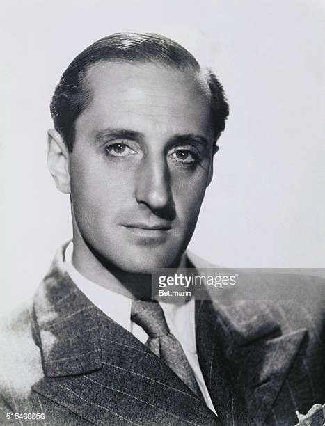 Basil Rathbone who is playing opposite Ann Harding in the Max Schach Trafalgar film Love From A Stranger directed by Rowland V Lee
