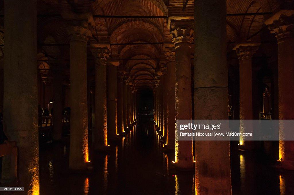 Basilica Cistern : Stock Photo
