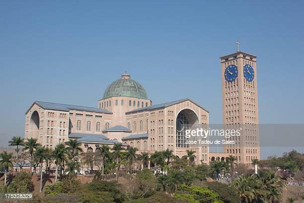 Basilica de Nossa Senhora da Aparecida na cidade de Aparecida do Norte, São Paulo, Brasil