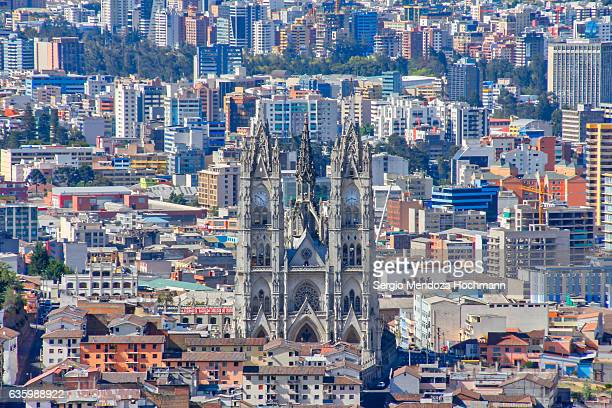 Basilica del Voto Nacional - Old vs. new Quito, Ecuador