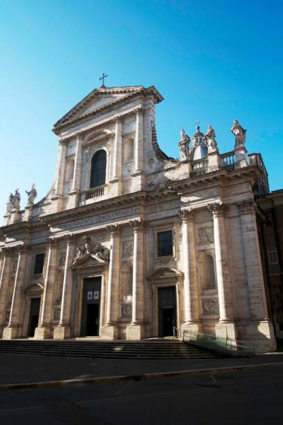 Basilica di San Giovanni Battista dei Fiorentini (St. John the Baptist of the Florentines), Rome, Lazio, Italy, Europe