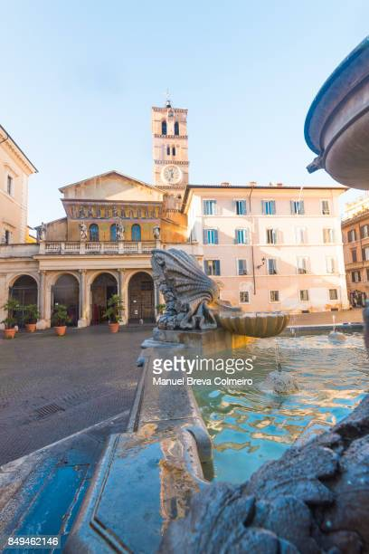 Basilica di Santa Maria in Trastevere, Rome Italy